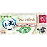 Lotus Pure Natural - 10 fundas de 9 pañuelos