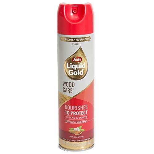 Scotts Liquid Gold A10 Wood Cleanr Preservative, 10oz, AerosolCan, 10 Oz