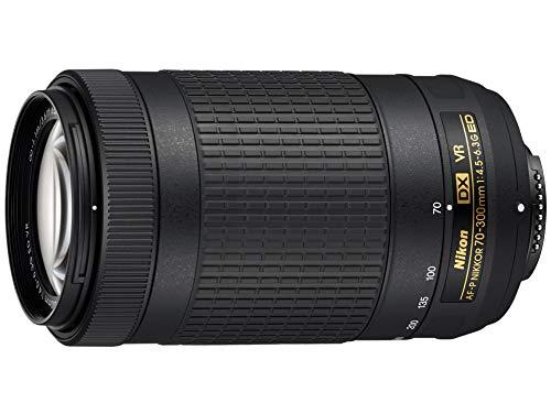 Nikon AF-P DX NIKKOR - Teleobjetivo para Nikon DX únicamente (70-300 mm, f/4,5-6,3 G, ED VR)