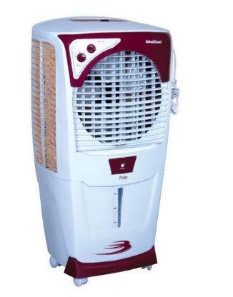 KHAITAN POLO Air Cooler - 55 L, White, Cherry Red