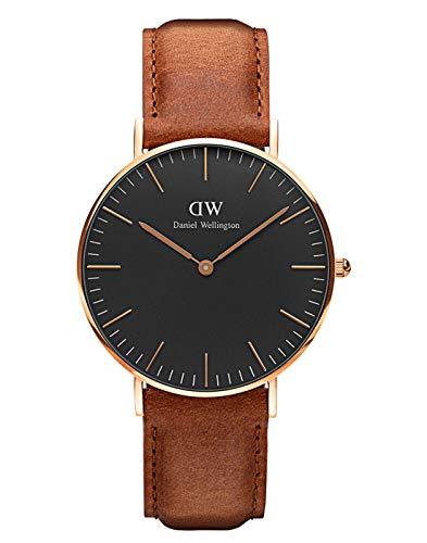 Daniel Wellington Classic Durham, Hellbraun/Roségold Uhr, 40mm, Leder, für Herren