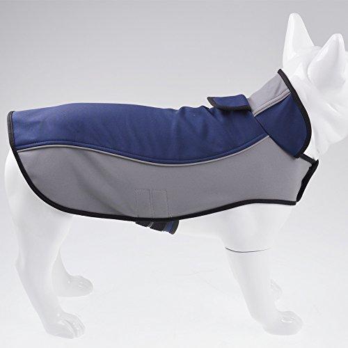 Fosinz Outdoor Waterproof Dog Jacket Dog Coat with Reflective Stripe...