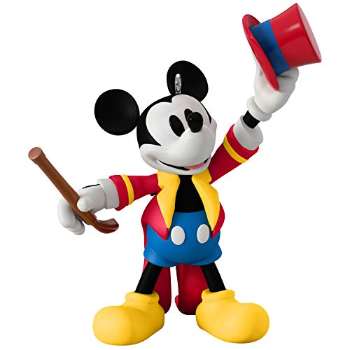 Hallmark Keepsake Christmas Ornament 2019 Year Dated Disney Movie Mouseterpieces Mickey's Circus