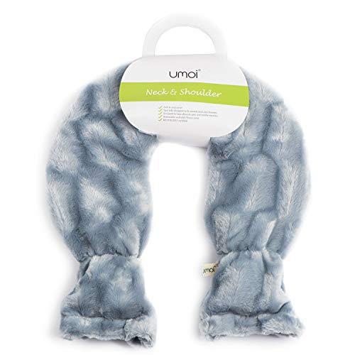 Premium Wärmflasche für Schulter und Nacken aus PVC mit hochwertigem Bezug mit extra Innenfutter und...