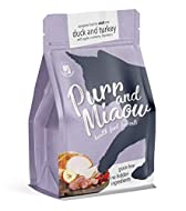 Purr and Miaow, Complete Dry Cat Food for Adult Cats (Grain-free & 100% natural with no added sugar)...