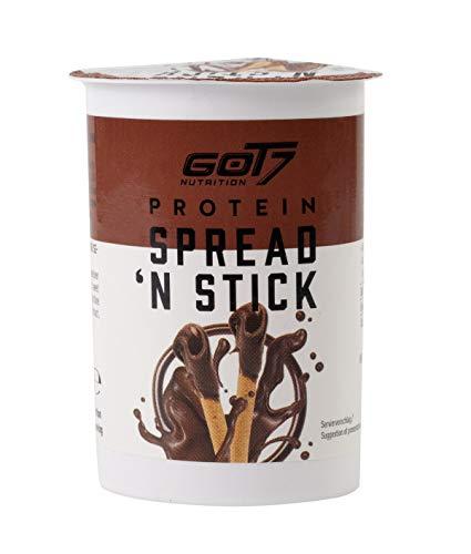 Got7 Nutrition Got7 Spread 'N Stick - Deliciosa Crema De Chocolate Y Avellanas Con Palitos De Pan Crujientes (6 X 52G) 312 g
