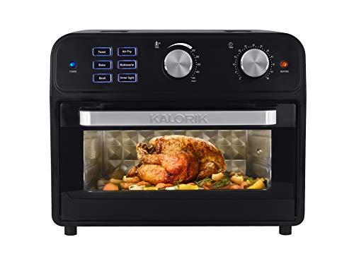 Kalorik AFO 46110 BK 22 Quart Digital Air Fryer Toaster Oven, Black