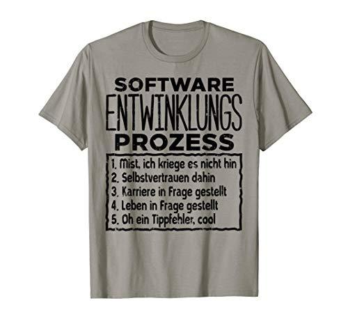 Software Weihnachts Geschenk Lustiges Itler Nerd Geek Shirt T-Shirt