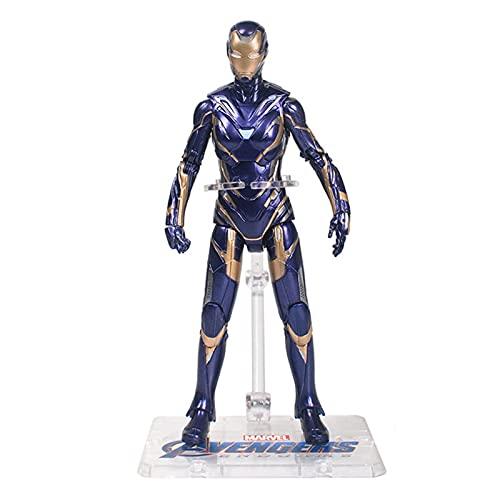 JSJJAUA Figura de acción 17cm MK85 Iron Man Article Hombre Movible Figura Modelo Toys Collection Doll Gift para niños muñeca (Color : Peper no Box)