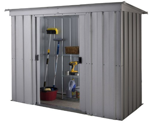 Yardmaster 6 x 4 ft Store-All Pent Roofed Metal Shed