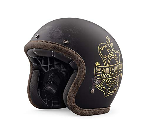 Harley-Davidson Bootlegger's Pass 3/4 Jet Helm, 98236-19EX, L