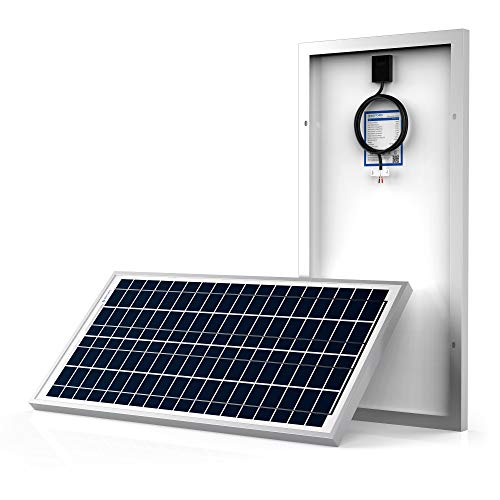 ACOPOWER 35 Watts 35w Polycrystalline Photovoltaic PV Solar Panel Module for 12 Volt Battery Charging