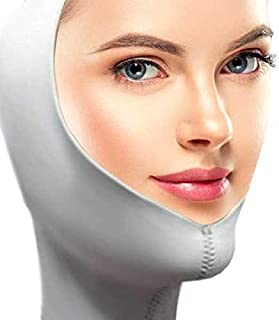 Facial Slimming Strap - Chin Lift Facial Mask - Eliminates Sagging Skin, Double Chins, Droopy Cheeks By Alayna Tm