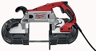 Milwaukee Electric Tool 6238-20 - Portable Corded Bandsaw, Power Rating: 11A, 120V, Max Speed: 380sfpm, Amperage: 11A, Amperage: 11A