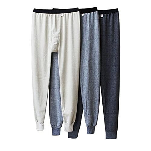 GPPZM Cotton Thermal Underwear Men Long Johns Winter Warm Sleep Bottoms Mens Tight Long Johns for Underpants Random Color (Color : Random, Size : XXXL Code)