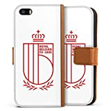 Étui Compatible avec Apple iPhone 5s Étui Folio Étui magnétique RBFA Produit sous Licence...