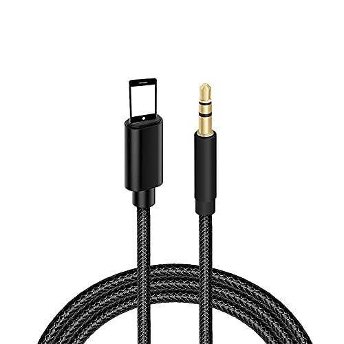Auto AUX Kabel für iPhone, Audiokabel Aux Kabel auf 3.5mm Premium Audio für iPhone 12/12 Pro, 11/11 Pro/, 7/7 Plus, 8/8 Plus/X/XS/XR, iPad, Auto-Stereoanlagen, Lautsprecher, Kopfhörer- schwarz