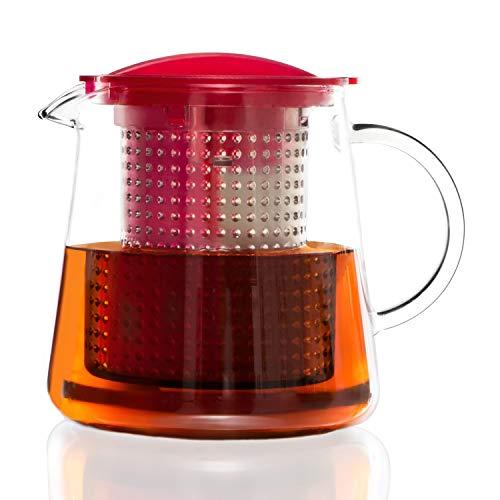Finum Tea Control 0.8 l theepot met Brew Control-mechanisme