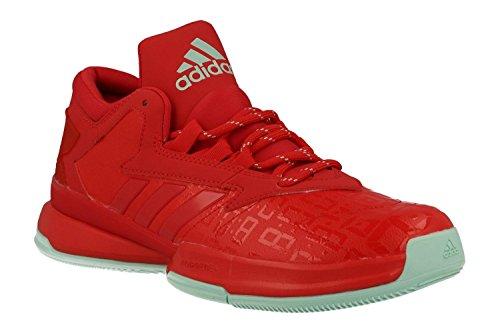 adidas Herren Street Jam Ii Basketballschuhe, Multicolore Icegrn/Rayred, 40 2/3 EU