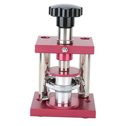 Herramienta de reparación de relojes, tapa trasera, tapadora, herramienta de banco, máquina para prensar tapas de relojes, máquina de cierre trasero para relojero