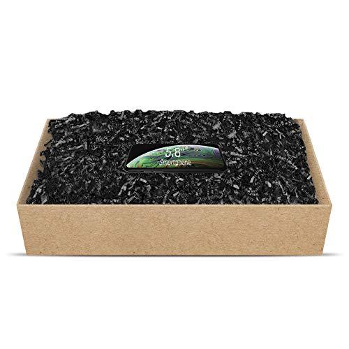 SizzlePak umweltfreundliches Papierfüllmaterial viele Farben 125g-1kg (schwarz, 500g)