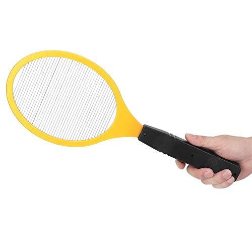 Rockyin Cordless Battery Electric Power Mosca zanzara Swatter Bug Zapper Racket Insetti Killer (Giallo)