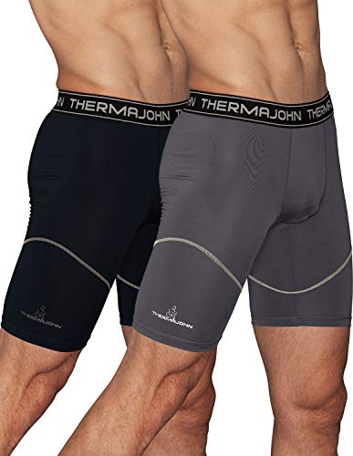 Thermajohn Mens Compression Shorts Underwear Cool /& Quick Dry Athletic Shorts
