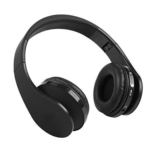 Dpofirs Bluetooth Wireless Gaming Headset, eingebauter Kopfhörer mit Mikrofonkopf, HiFi Stereo 300mAh Chargeble Universal Headphones für PS4