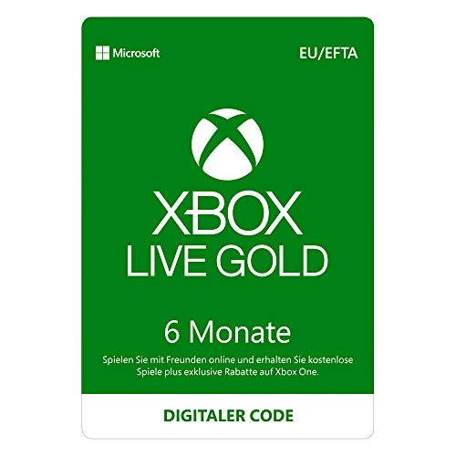 Preisvergleich Produktbild Xbox Live Gold Mitgliedschaft / 6 Monate / Xbox Live Download Code