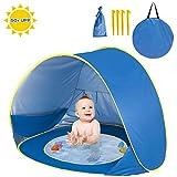 Shayson UPF 50+ Pop Up Beach Tent, Portable baby Sun Shelter UV Protection