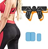Hips Trainer, Electric Hips Trainer, Abs Stimulator Buttock Muscle Toner Smart Butt Toner Workout Equipment Ab Machine Fitness Muscle Stimulator for Women Men