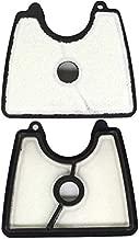 AISEN Pack of 2 Air Filter for 545112101 Husqvarna 125 125B 125BVX 125BX Leaf Blowers