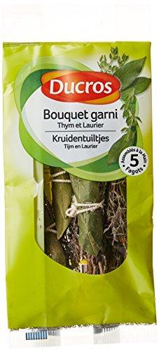 Ducros Bouquet garni Thym et Laurier 5 fagots 17 g