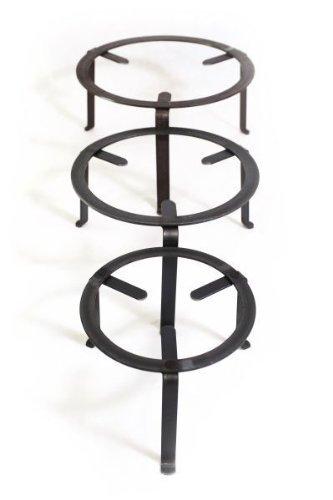 andere Hersteller Dreibein Ständer 30cm, Schmiedeeisen
