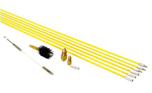 Super Rods 90810 Quick - Set di aste e accessori per edilizia, impianti elettrici o idraulici