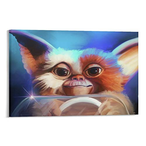 YANGNA 2-Gremlins Movie Gizmo Picture Print Wall Art Poster Painting Canvas Posters Artworks Gift Idea Room Aesthetic 20×30inch(50×75cm)