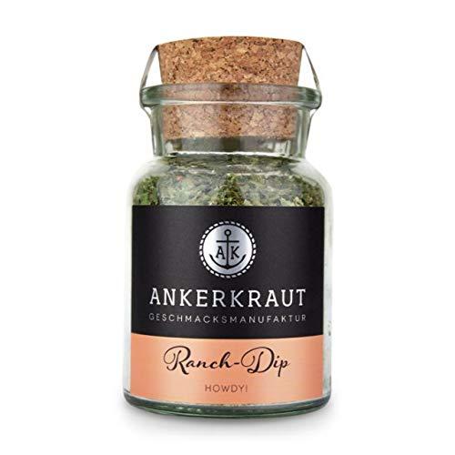 Ankerkraut Ranch Dip Gewürzzubereitung Gewürzmischung für Quark im Korkenglas 60 g