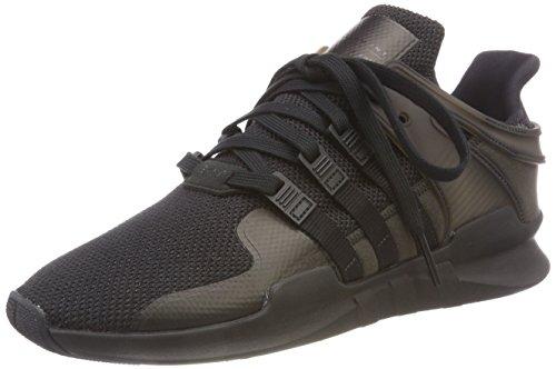 adidas Damen EQT Support ADV Gymnastikschuhe, Schwarz (Core Black/core Black/sub Green S13), 38 EU