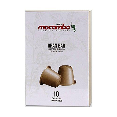 Mocambo Gran Bar Kapseln für Nespresso® - 10 Kapseln