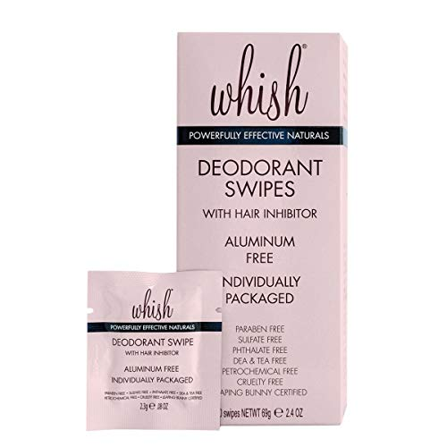 Whish Deodorant Swipe, 30 Count