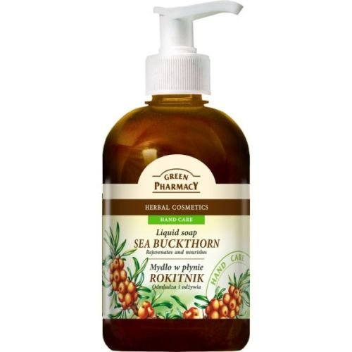 Green Pharmacy Savon liquide Liquid Soap Argousier sans parabènes 465 ml
