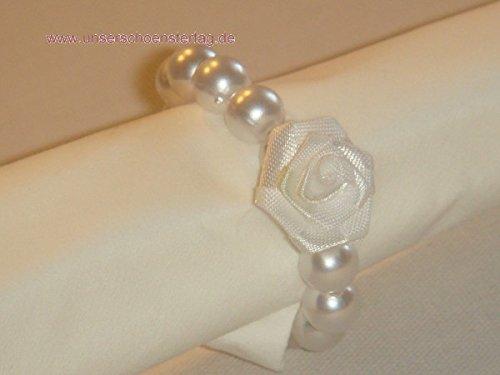 10 Serviettenringe Hochzeit Taufe Kommunion Konfirmation Verlobung SR005