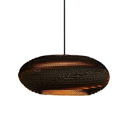 Hai Ying hanglamp Vintage Southeast Azië Japanse kracht papieren lampen restaurant Home Bar Casual E27 * 1 diameter 72 cm (afmetingen: 40 x 17 cm)