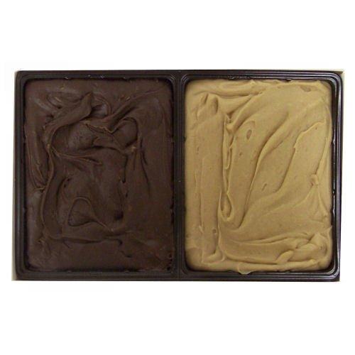 Home Made Creamy Chocolate/Peanut Butter Fudge - 24 OZ Gift Box