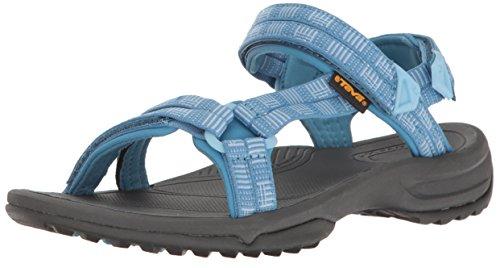 Teva Damen W terra FI Lite Sandale, Blau, 37 EU