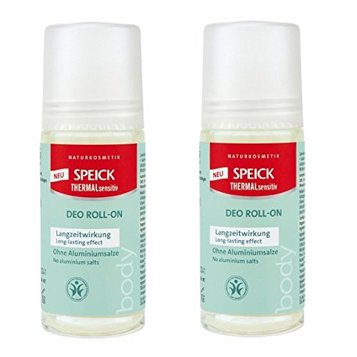 SPEICK Thermal Sensitiv Deo Roll-on 2er-Pack (2x 50ml) (bio, vegan, Naturkosmetik) Deodorant Roller x2