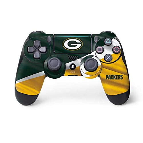 Skinit Decal Gaming Skin for PS4 Pro/Slim Controller - Officially Licensed NFL Green Bay Packers Design