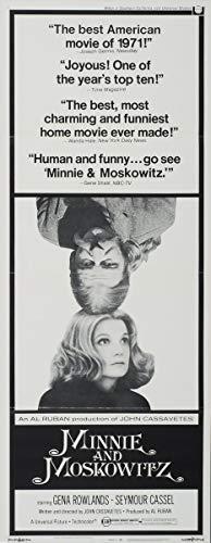 Berkin Arts Cartel de película Lámina giclée sobre Lienzo-Cartel de la película Reproducción Decoración de Pared(Minnie y Moskowitz 3) #XFB