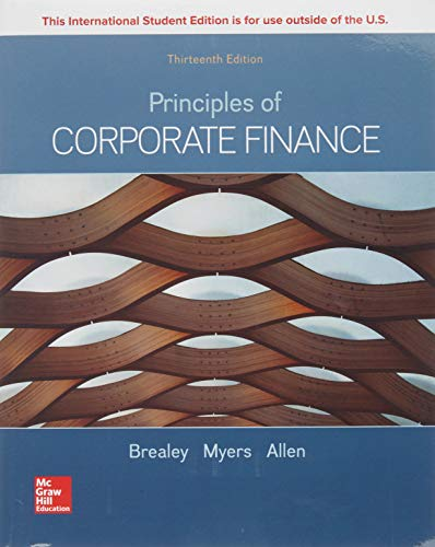 Principles of corporate finance (Economia e discipline aziendali)
