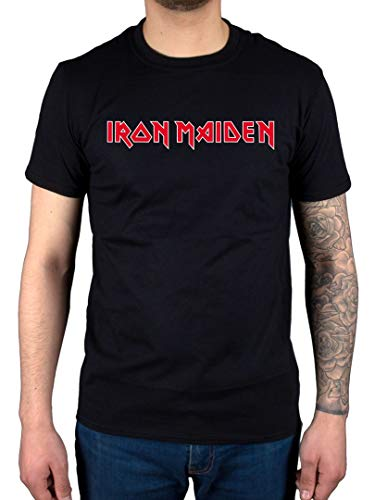 AWDIP Ufficiale Iron Maiden Logo T-Shirt